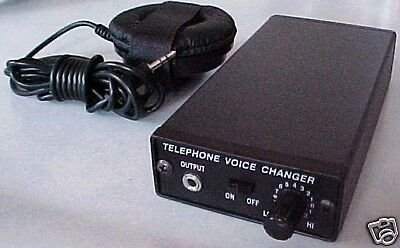 DIGITAL TELEPHONE 16 LEVEL VOICE CHANGER - THIS DEVICE IS A TON OF SERIOUS FUN. (Voice Changer Device)