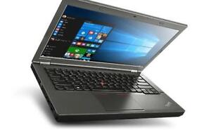 LENOVO THINKPAD T440p, INTEL CORE i5 (4th Gen), 4GB, 128GB SSD, MSWINDOWS 10, MS OFFICE 2016, PHOTOSHOP, VLC  plus more.