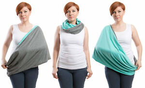 Nursing scarf, Infinity Scarf, 2 in 1 Nursing Cover/shawl