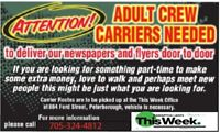 ADULT CREW NEEDED!-DELIVERY