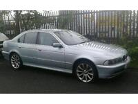 BMW 520I with private reg! Needs repairs