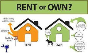 You Can Own Your Own Home!!  Rent To Own!