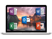MICROSOFT OFFICE for MAC (2016 EDITION)