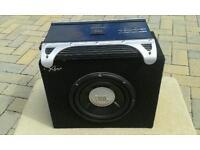 """JBL 10"""" Subwoofer & JBL 400w Amplifier"""