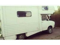 URGENT- PRICE REDUCED FOR QUICK SALE- CLASSIC VINTAGE SHERPA MOTORHOME / CAMPERVAN 1.8 DIESAL