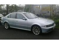 BMW 520I with private reg - Spares or repairs!