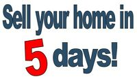 Sell your home in 5 Days.