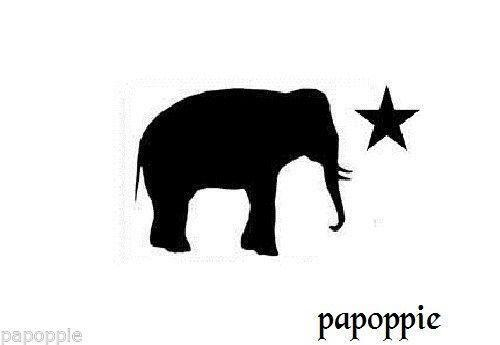 Elephant Stencil Ebay