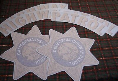 "CHP ""CHiPS""1955-1998 CALIFORNIA HIGHWAY PATROL Door Set"