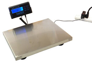 New Digital Postal Scale with flexible cord LCD display, 130 lbs capacity