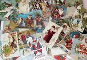 Used Christmas Card Lot