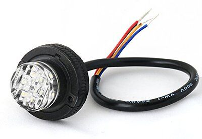 Impact 6 Led Hideaway Surface Mount Strobe Warning Light - Bw