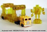 Transformers G1 Yellow Cliffjumper