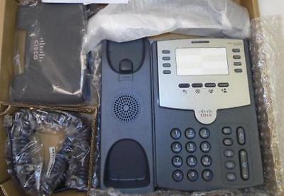 Genuine Cisco Spa501g Small Business Spa501g Voip Phone Silverdark Gray