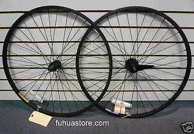 """new Beach Cruiser bike 26"""" alloy Wheels Wheelset Black Rims Black 36 spokes"""