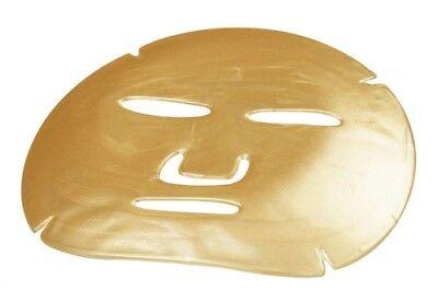 6 Gesichtsmasken,Beauty, Hyaluron, Maske Gesicht goldfarben,Gesichtspflege Haut