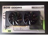 GTX 750 Ti 2GB EVGA
