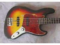 Fender Jazz Bass Stack-Knob Control Plate