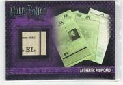 Harry Potter Prop Card