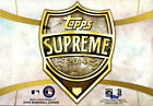 Autographed Topps Supreme Sports Trading Boxes
