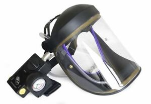 CRUSADER lite AIR FED VISOR, Airfed Paint Spray Mask