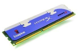 KINGSTON KHX1333C7D3/1G HyperX 2GB (2x1GB) 1333MHz DDR3-SDRAM