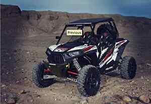 CAN AM MAVERICK FRONT BUMPER Pro Amor ATV TIRE RACK
