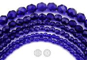 6mm Faceted Round Beads