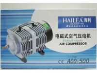 Hailea ACO 500 Piston Air Compressor Pump Koi Fish Pond - Hydroponic - NO OFFERS