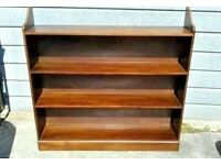 Large oak bookcase Very solid in good condition