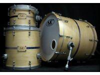SJC Custom Drum Kit not truth shine porkpie gretsch drums mapex sonor dw