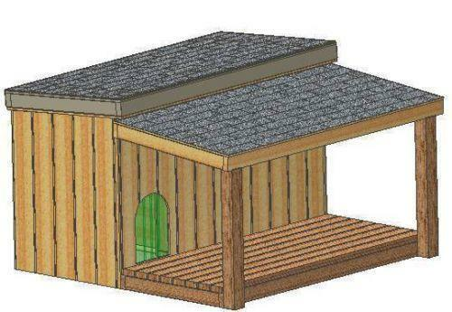 Insulated dog house ebay for Insulated double dog house