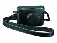 NEW Fujifilm LC-X10 Black Leather Camera case for Fujifilm X10/X20
