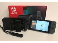 NEW Nintendo Switch Console 32GB Grey Version 2 Improved Battery