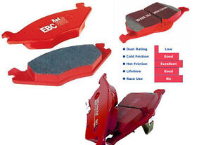 EBC Redstuff Brake Pads for 06-11 Civic si, RSX type s, S2000
