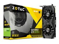 ZOTAC GEFORCE GTX 1070 TI AMP! EDITION - like new, 3 months old. 2 available.