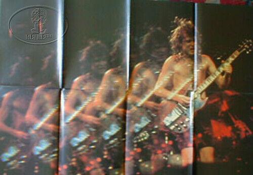 AC/DC 1984 Flick Switch Tour Program & Poster Tour Book