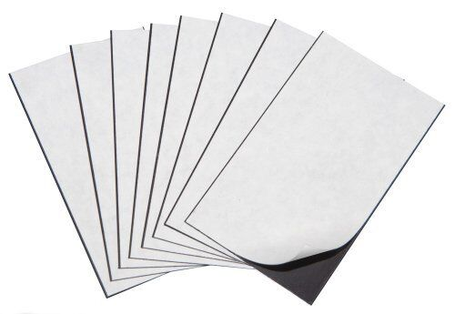 """Marietta Magnetics - 25 Magnetic Sheets of 5"""" x 7"""" Adhesive (30 mil)"""