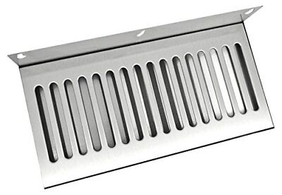 New Bev Rite Wall Mount Beer Drip Tray Stainless Steel 14 X 6 Free2dayship