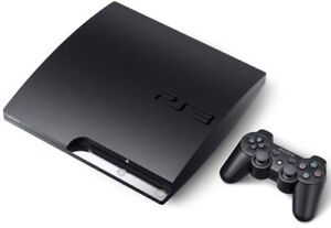 Playstation3 2501B with 2 controllers, 2 games, remote & charger