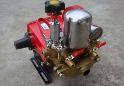 High Pressure Triplex Plunger Pump Agricultural Motor Sprayer Pump S