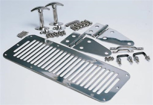 PLUSIEUR PIECES EN STAINLESS JEEP CJ5 CJ7 WRANGLER