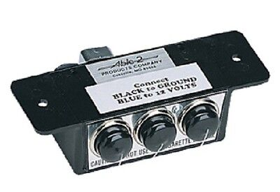 Sho-me Triple Outlet Box For Cigarette Plug Items - Made In Usa