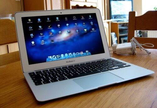"""MacBook Air 11inchin Stretford, ManchesterGumtree - MacBook Air 11"""" Purchased mid 2011. Late 2010 manuf. 1.4GHz core 2 duo 2Gb (DDR3 1067MHz) 128Gb Flash Storage NVIDIA GeForce 320M 256Mb Battery not used much mainly used at home and running from mains. Comes with mains power supply and OSX Lion on..."""