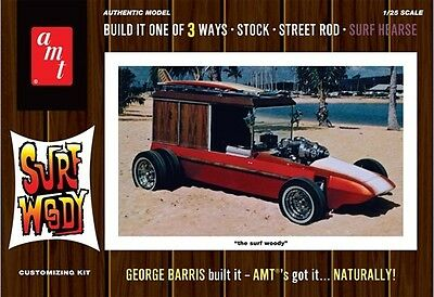 AMT 1:25 George Barris Surf Woody Plastic Model Kit AMT976