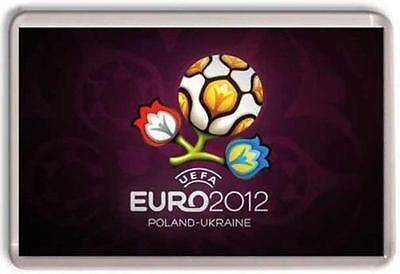 Euro 2012 Football Logo Fridge Magnet 01