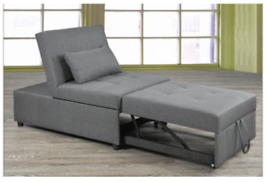 Transformable Ottoman/Chair/Bed