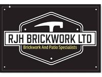 RJH BRICKWORK LTD....... NEW BUILDS-EXTENSIONS-GARDEN WALLS-DRIVEWAYS-PATIOS AND MORE