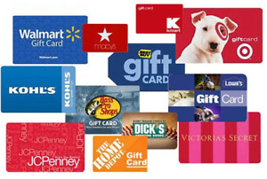 I Will Pay Cash For Your Unwanted Retail Gift Cards Giftcard