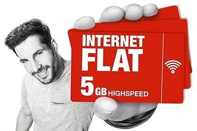 5GB Internet Flat - Ortel mobile - 5GB Daten prepaid sim - 4G LTE nano micro